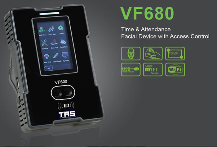 VF680 Facial Recognition and Biometric Time Attendance Product