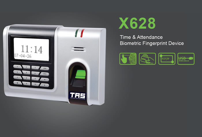 X628 Biometric fingerprint and Time Attendance Product